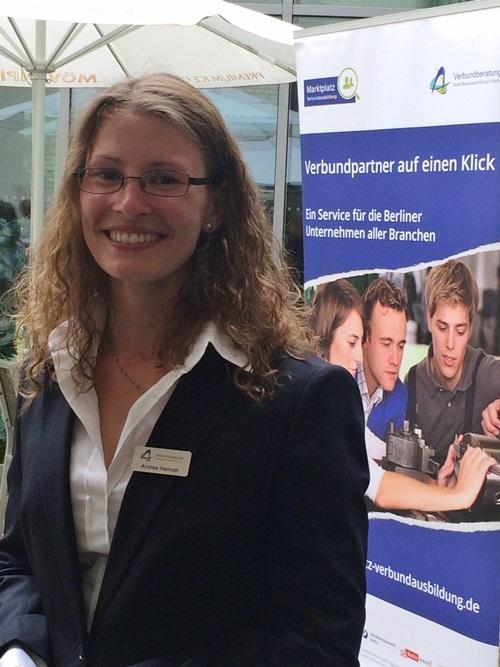 Andrea Harnoth ist die Ansprechpartnerin der Verbundberatung für Hotelleire und Gastronomie